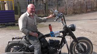 Часть 5 .Мотоцикл Турбо Йоды.С Чистого Листа.Чоппер Круизёр С Двигателем К-750
