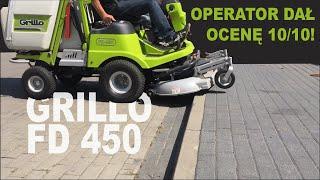 Operator wystawił tej kosiarce ocenę 10/10. Doskonała maszyna dla firm usługowych - Grillo FD 450.