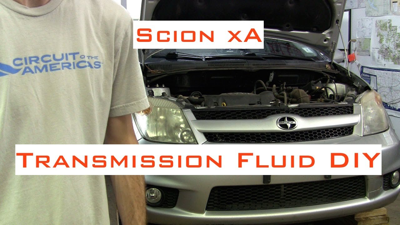 scion xa xb auto transmission fluid filter diy 2004 2006 [ 1280 x 720 Pixel ]