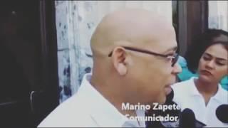 Marino zapete a su salida Palacio de Justicia visitando a Temistocles y Andres Bautista 10/06/17