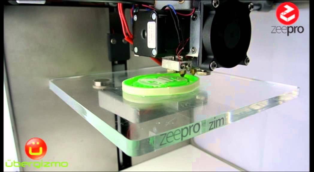Zim by Zeepro - 3D printer Demo - YouTube