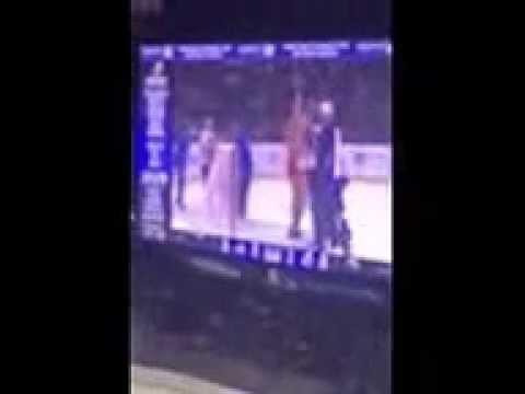 Casey Ellison & Blake Casper Take The Ice