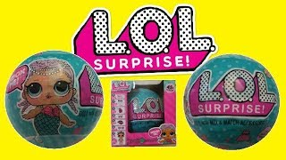 LOL SURPRISE DOLL Opening Eggs with Lol  Doll from Kids PlayDoh Show
