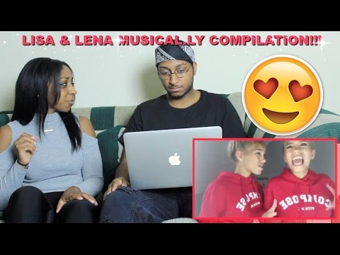 Couple Reacts : Lisa And Lena Twins The Best Musical.ly Compilation Reaction!!