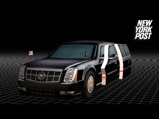 President Trump's 'Cadillac One' will come stocked with emergency blood