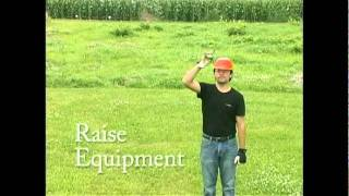 Hand Signals - Raise Equipment