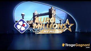 ➤ EuroMillions My Million FDJ | Tirage officiel du Vendredi 09 Novembre 2018 | Résultats