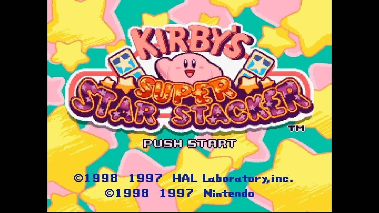Kirby's Super Star Stacker Receives English Fan Translation