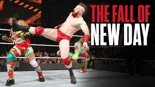 Cesaro & Sheamus vs. The Hardy Boyz - 2-out-of-3 Falls Raw Tag Team Title Match: Raw, June 12, 2017