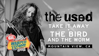 """The Used - """"Take It Away"""" & """"The Bird and The Worm"""" LIVE! Vans Warped Tour 25th Anniversary 2019"""