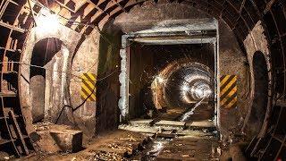 Заброшенный Тоннель Метро под Центром города! Старый перегон ''Консерва''!