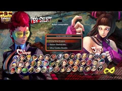Ultra Street Fighter Iv Female Characters Animal Matches Part 1