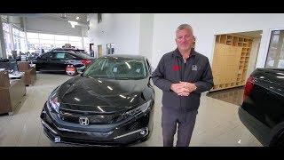 2020 Honda Civic Touring Sedan Walk Around with Bryan Weir | WHITBY OSHAWA HONDA