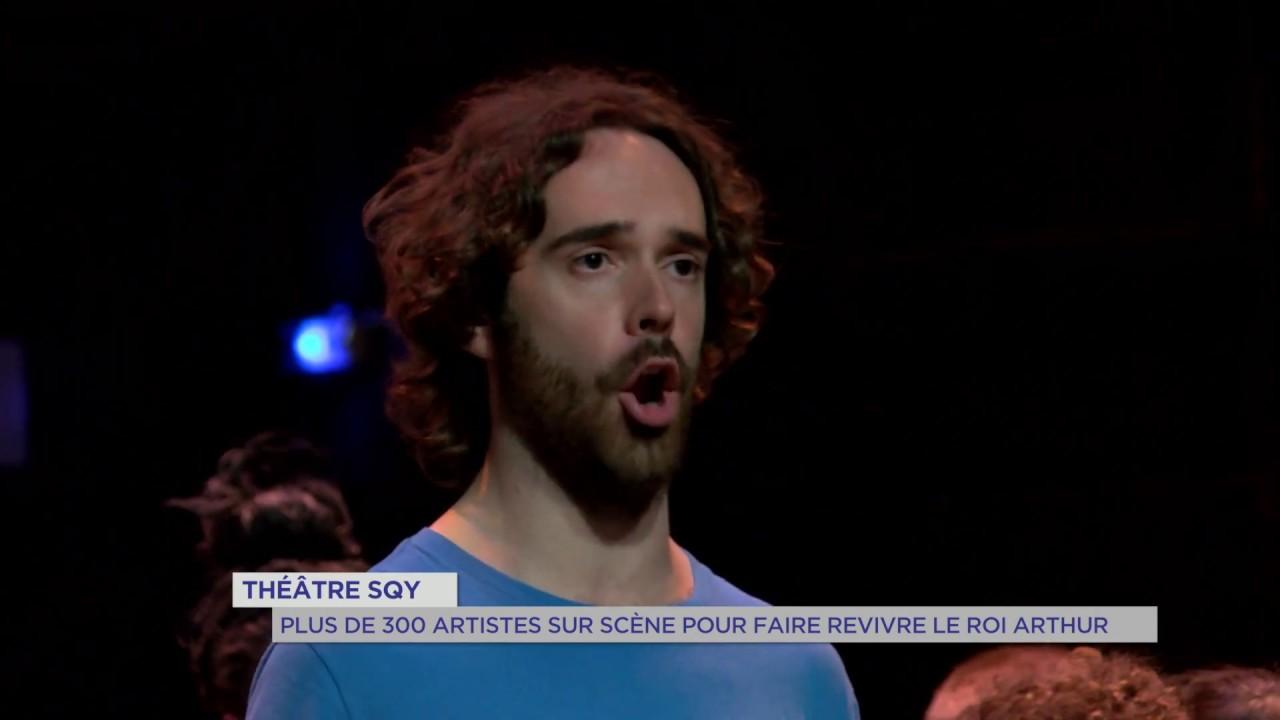 Yvelines | Théâtre SQY : Plus de 300 artistes sur scène pour faire revivre Le Roi Arthur