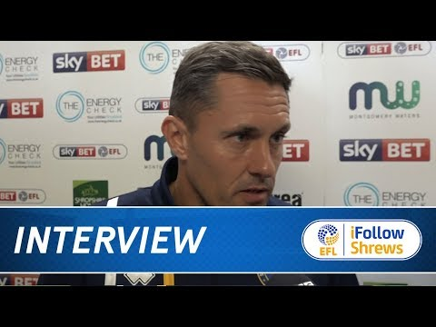 iNTERVIEW  Paul Hurst post Wigan  Town TV