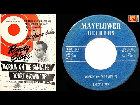 RANDY STARR - Workin' On The Santa Fe / You´re Growing Up (1959)