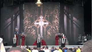 Madonna - Opening / Act Of Contrition (incomplete) - Hyde Park - London - MDNA Tour