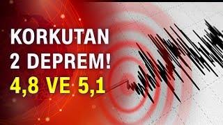 Son dakika... İzmir'de peş peşe korkutan iki deprem