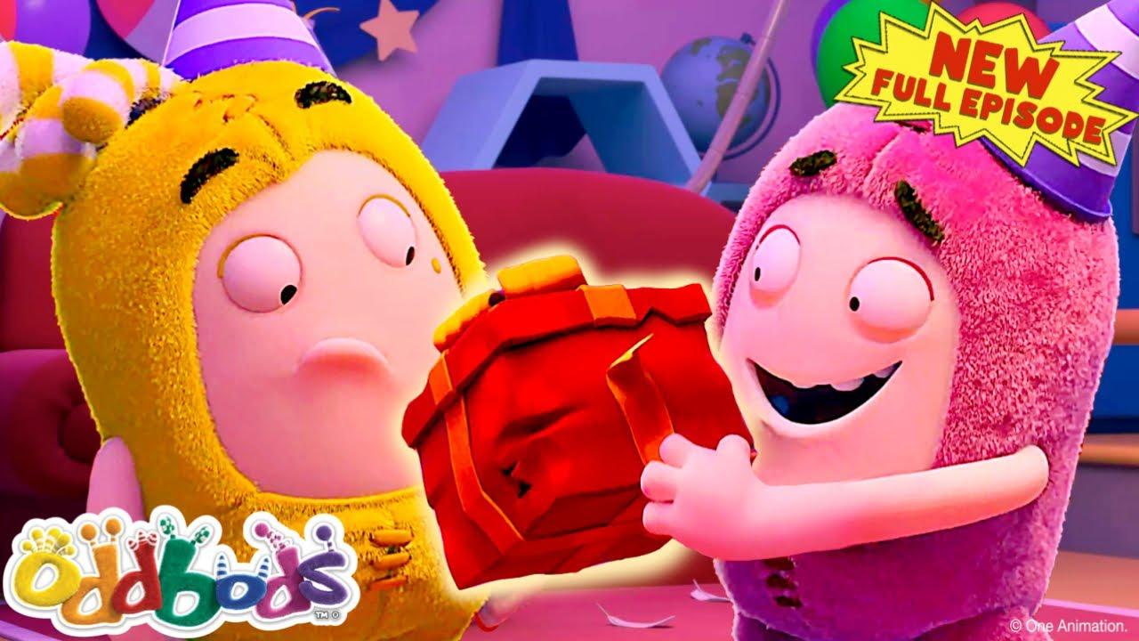 Kids Cartoon | Celebrating Bubbles' Birthday!  | Summer Fun! | NEW Full Episode by Oddbods