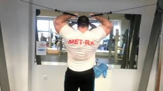 Huge Greek Nikos Mousounidis Training His Biceps