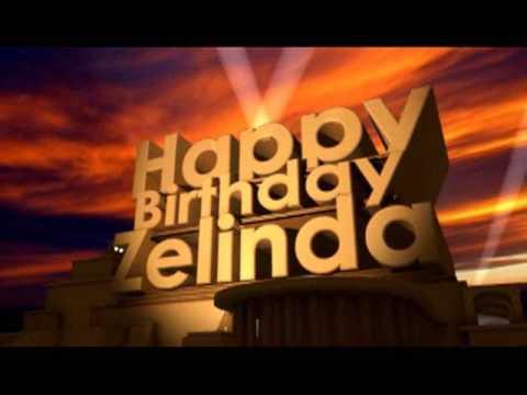 Happy Birthday Zelinda