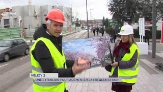 Vélizy 2 : le centre commercial en travaux