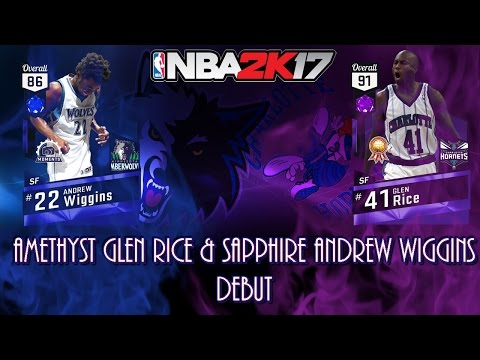 NBA 2k17 Deep Shooters Amethyst Glen Rice Drops 50 in Debut Along with Moments Wiggins