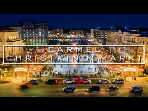 Carmel, Indiana Christkindlmarkt | Night Cinematic | 2019