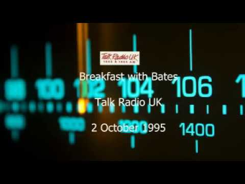 Breakfast with Bates - Talk Radio - 2 October 1995