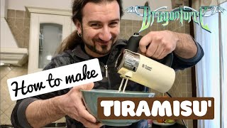 DragonForce - How to Make Tiramisu with Drummer Gee Anzalone