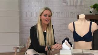 Barely Breezies Molded Seamless Bra w/ UltimAir Lining on QVC | QVCtv