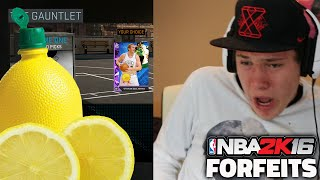 NBA 2K16 FORFEITS! - LEMON JUICE
