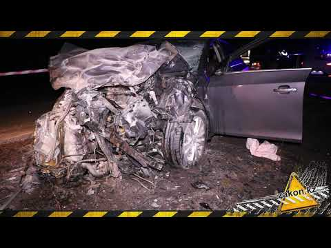 Лобовое столкновение Chevrolet Cruze и Daewoo Ravon. Погибли четверо.