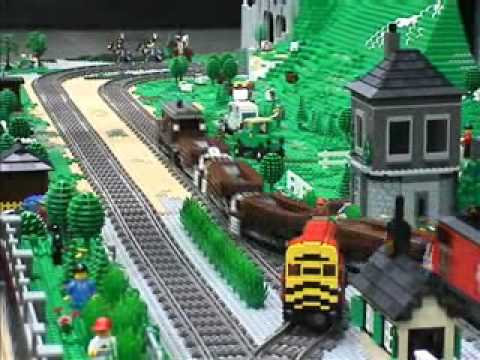 Great Western LEGO Train Show IV - YouTube