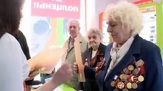 Поздравление ветеранов Великой Отечественной войны в Великом Новгороде
