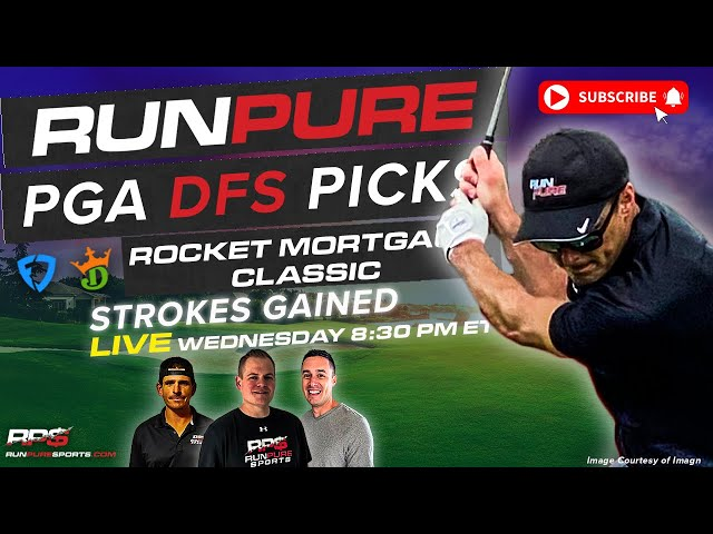 ROCKET MORTGAGE CLASSIC DRAFTKINGS PGA PICKS - STROKES GAINED