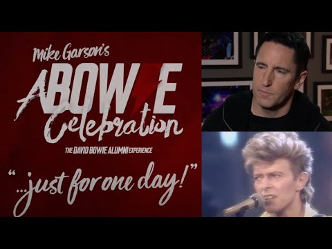 Trent Reznor/Billy Corgan - David Bowie livestream event A Bowie Celebration: Just For One Day!