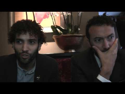 Interview: Marwan Kenzari and Nasrdin Dchar   Wolf (The Fan Carpet)