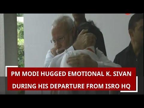 PM Modi hugged