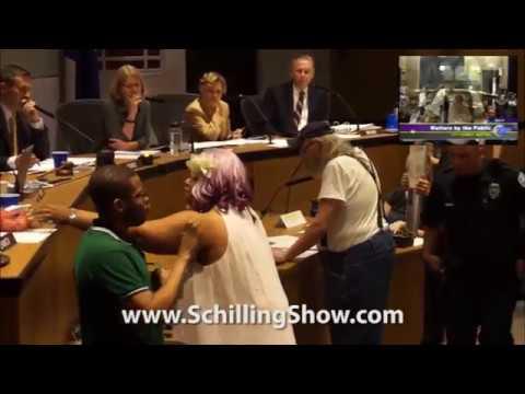 CHAOS at Charlottesville City Council Meeting, Episode 2: John Heyden 060517