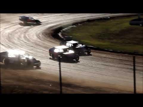 Springfield Raceway 10 20 18 Jace Gay Heat Race