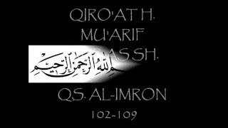 QIRO 39 AT QS AL IMRON 102 109 H MU 39 ARIF ABBAS SH