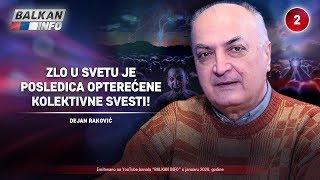 INTERVJU: Dejan Raković - Zlo u svetu je posledica opterećene kolektivne svesti! (21.1.2020)