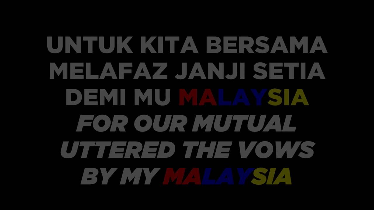 Sehati Sejiwa Alif Satar Gemersik Chorus Lagu Tema Hari Kebangsaan Dengan Lirik Dlm Skrin Bi Youtube