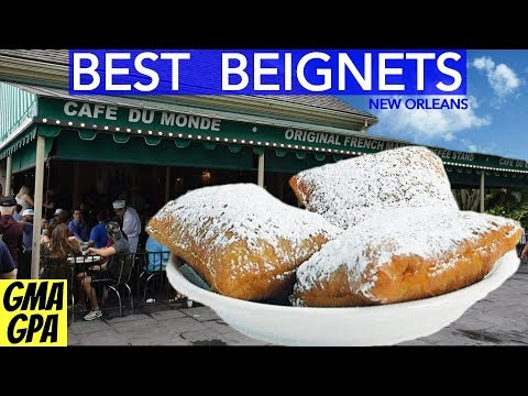 Best Beignets In New Orleans? Try The Cafe' Du Monde Restaurant In The Historic French Quarter, NOLA