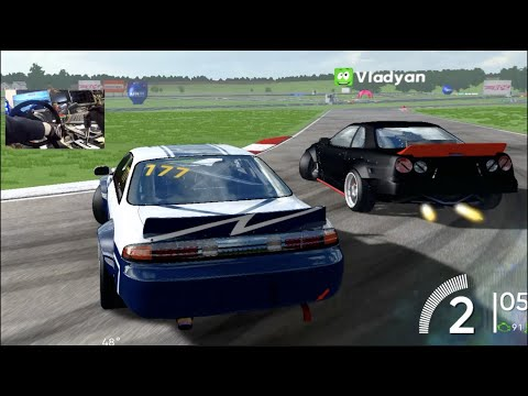 RDS Official Drift Game -8 Man Lobby ISN'T Happy With Me!! + PHYSICS UPDATE!!