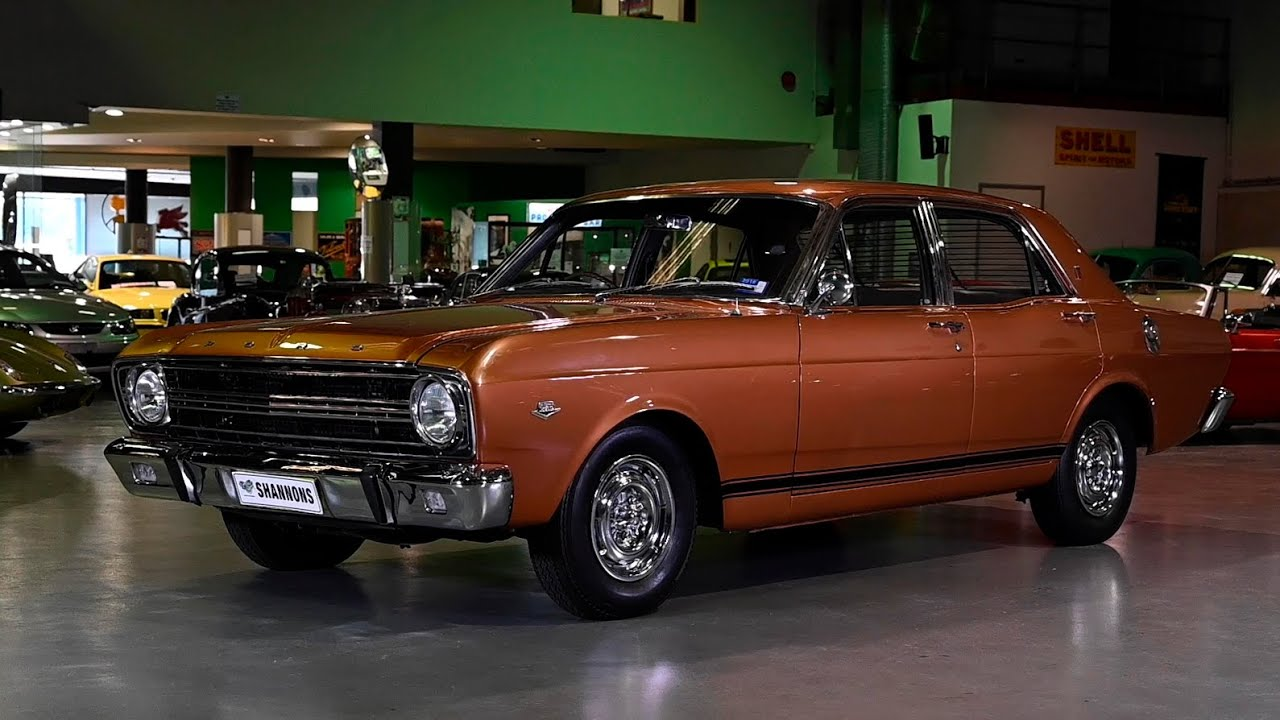 1967 Ford Falcon XR GT Sedan - 2019 Shannons Sydney Winter Classic Auction