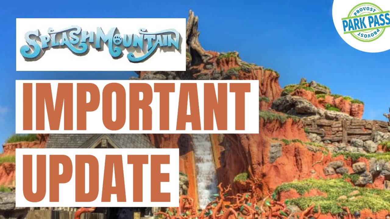 SPLASH MOUNTAIN IS CHANGING TO PRINCESS AND THE FROG | Walt Disney Reservation System UPDATE