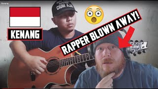 Download Alip Ba Ta 🇮🇩 - Kenang   AMERICAN RAPPER REACTION - HOW DOES HE DO THAT?!