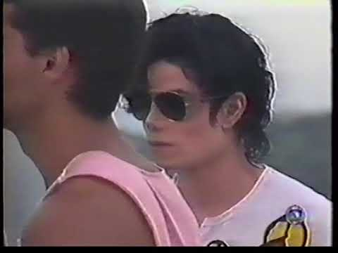 Michael Jackson - They don't care about us (shooting) (PART 2)